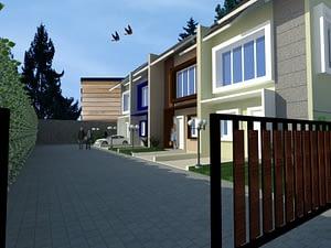 Kontraktor Desain Arsitektur Rumah Cluster