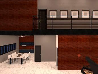 desain rumah di cibubur 3