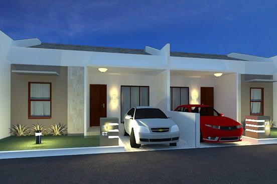 desain arsitektur rumah sederhana 1 lantai