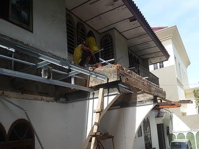 Renovasi rumah di Permata Hijau Jakarta Selatan