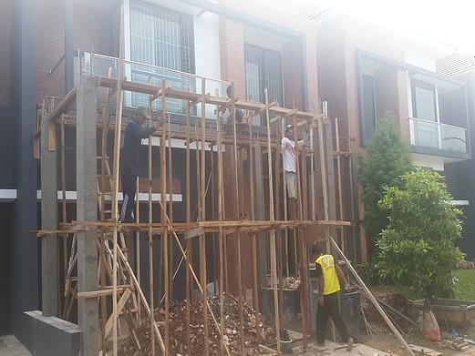 renovasi rumah discovery bintaro 7