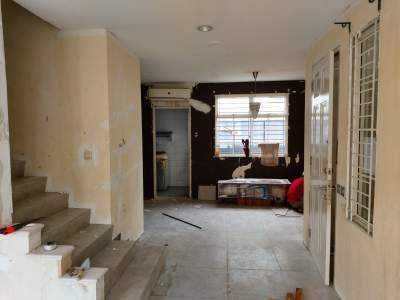 Renovasi rumah di cluster taman elok karawaci