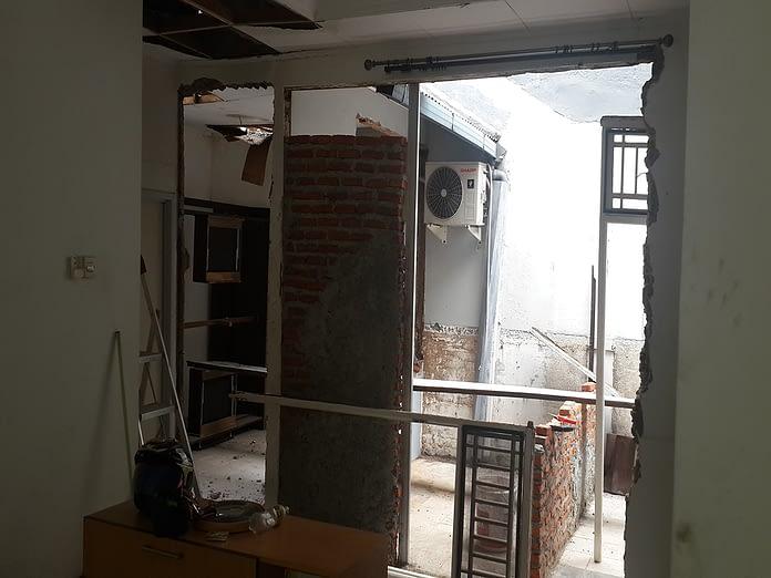 renovasi rumah di bintaro mandar 7