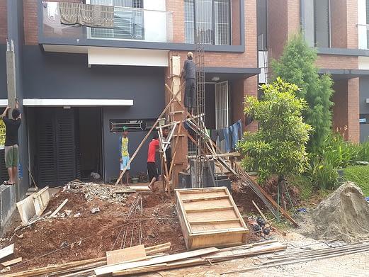 renovasi rumah discovery bintaro 8