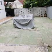 pekerjaan renovasi exterior rumah di bsd
