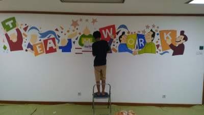 Jasa mural jakarta