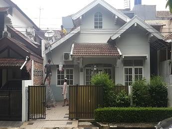 renovasi rumah di bintaro mandar 8