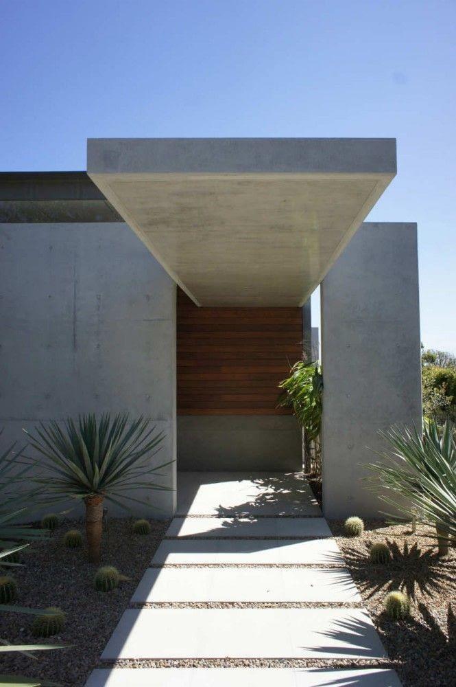 Model Kanopi Rumah Minimalis dengan Rangka Beton