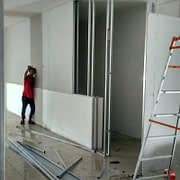 Renovasi kantor depo PT ABC President Indonesia di Jakarta